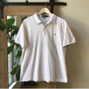 Polo by Ralph Lauren White Polo Shirt